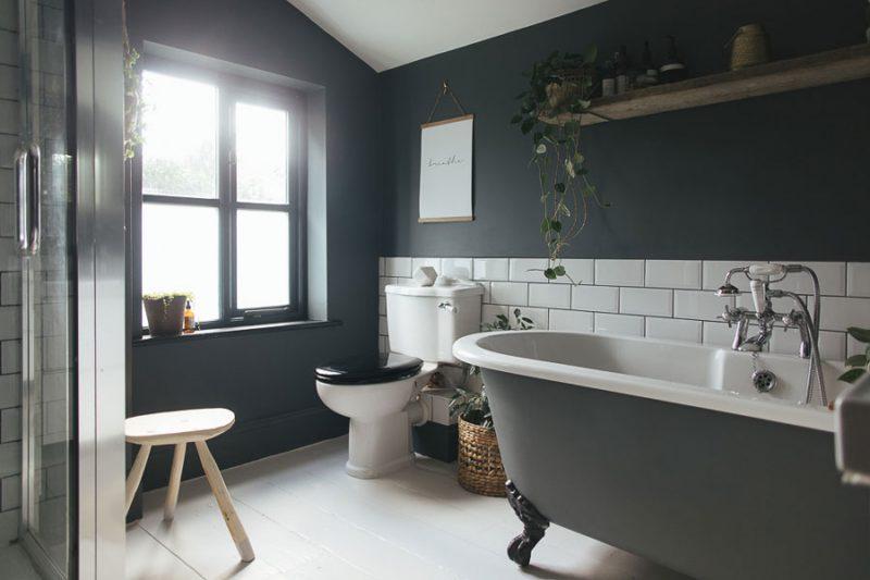 Badkamer make-over: van licht naar donker | Inrichting-huis.com