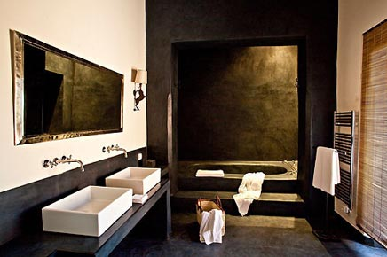 Badezimmer von Les Terres M Barka hotel