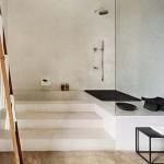 Badkamer met niveau's