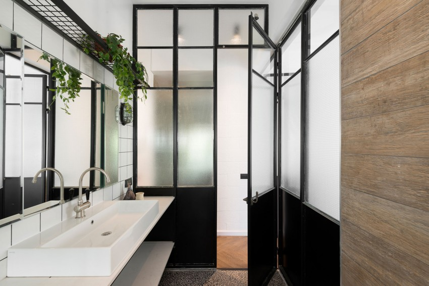 Badkamer In Slaapkamer Nadelen : Badkamer ontwerp met chique ...