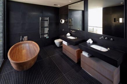 Badkamer van Playa Vik villa
