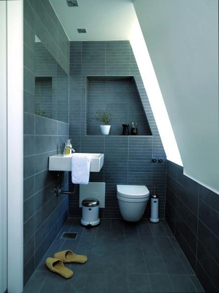 kleine badkamer indeling: voorbeelden van een kleine badkamer met, Deco ideeën