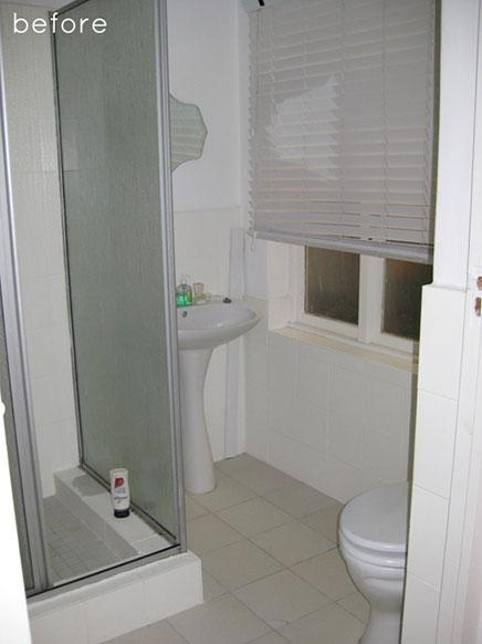 Badkamer renovatie van kim gray inrichting - Foto kleine badkamer ...