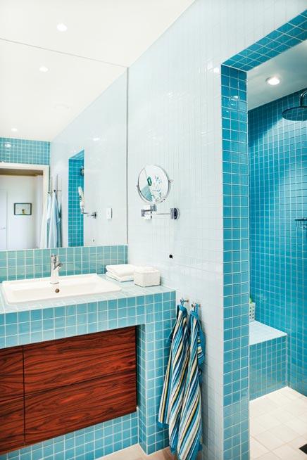 Badezimmer mit Retro Gefühl
