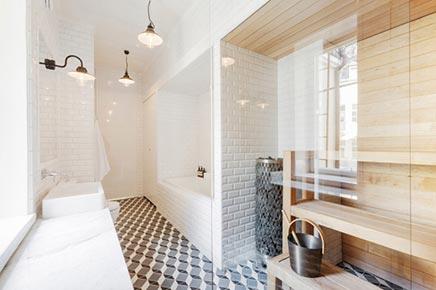 Badkamer met sauna | Inrichting-huis.com