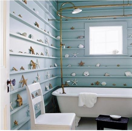 Badkamer met strandgevoel