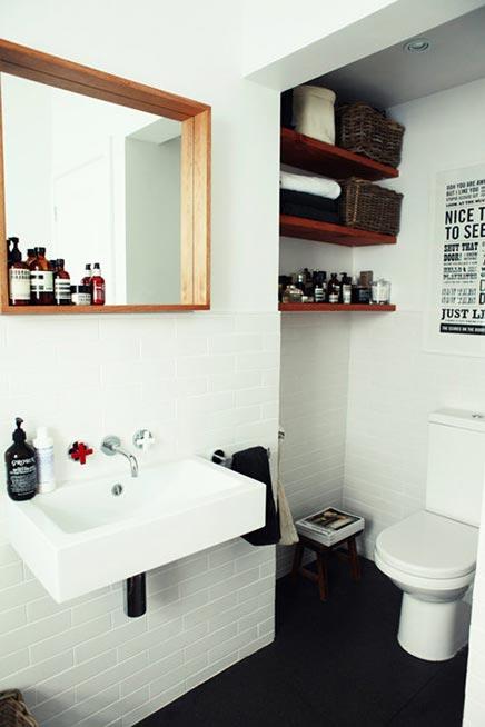 Badezimmer und WC wurden ein!