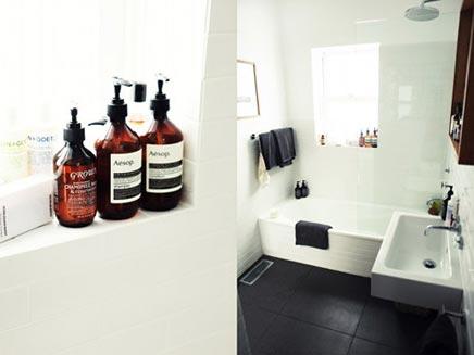 Badkamer en toilet worden één