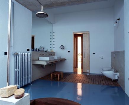 Badkamer als een Turks badhuis