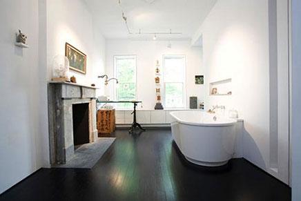 Grote badkamer Victoriaanse woning