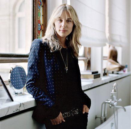 Badkamer van Zweeds ex-model Cecilia Brönström