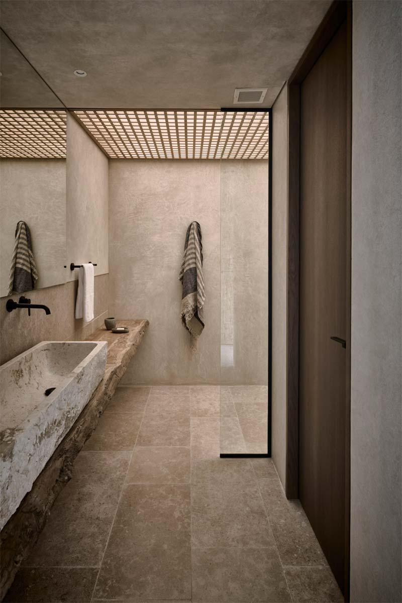 badkamertrends 2021 natuurlijke materialen