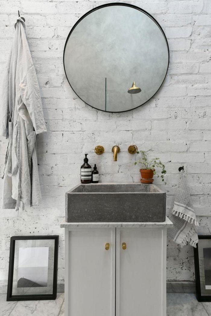 Bakstenen muur | Inrichting-huis.com