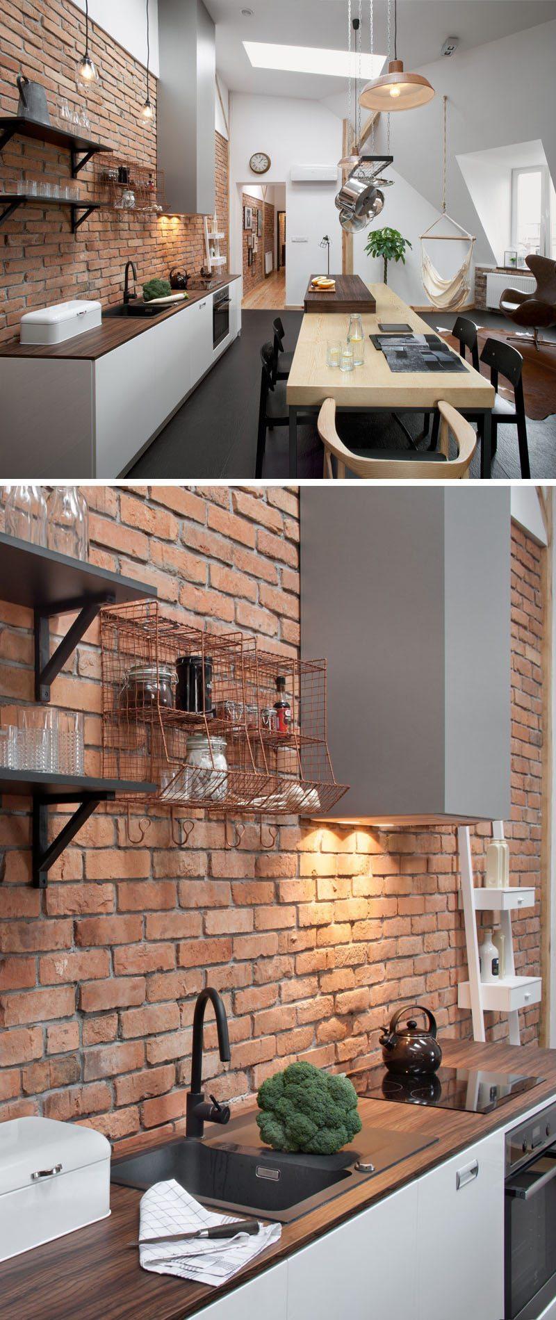 bakstenen-muur-keuken-loft