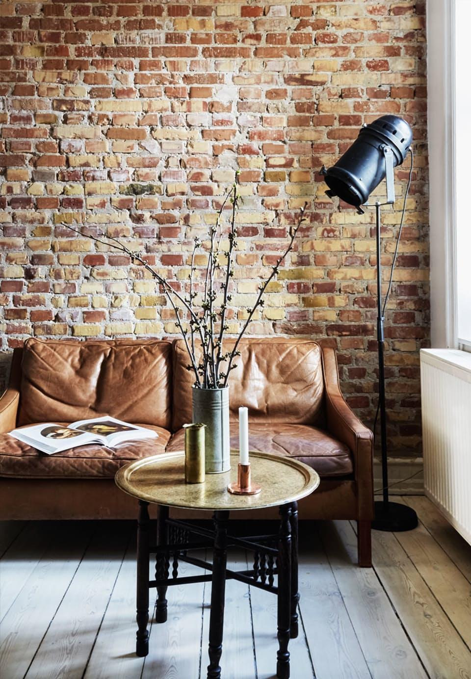 Klein appartement in een stoere New York stijl | Inrichting-huis.com