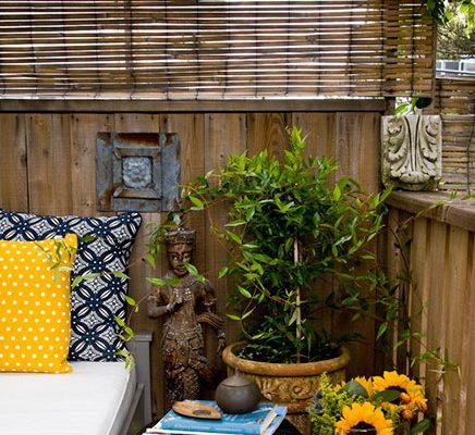 Balkon ideeen van interieurstylist Barbara Cannizzaro