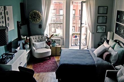 Balkon inrichten van klein appartement