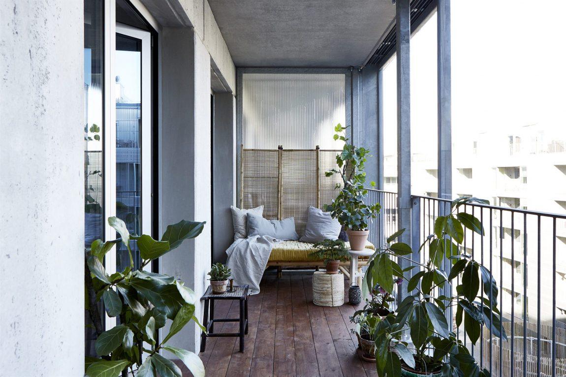 Balkon met een knus industrieel tintje inrichting for Huis en inrichting inspiratie