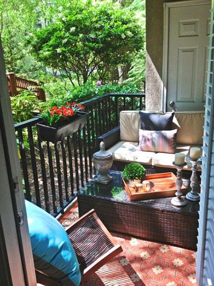 Balkon ontwerp door Erika