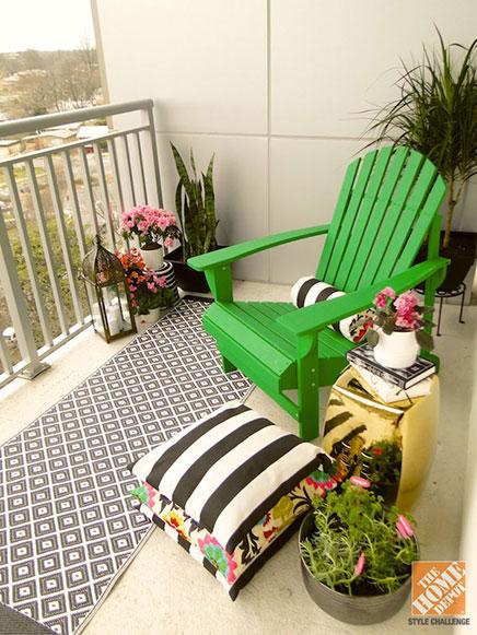 Balkon restyling van Mandy