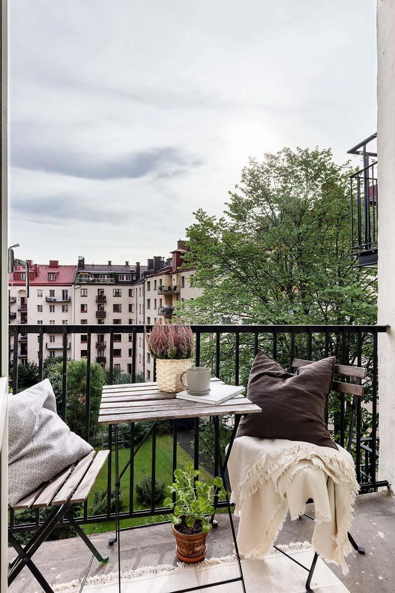 balkon styling