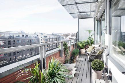 Balkon styling met planten
