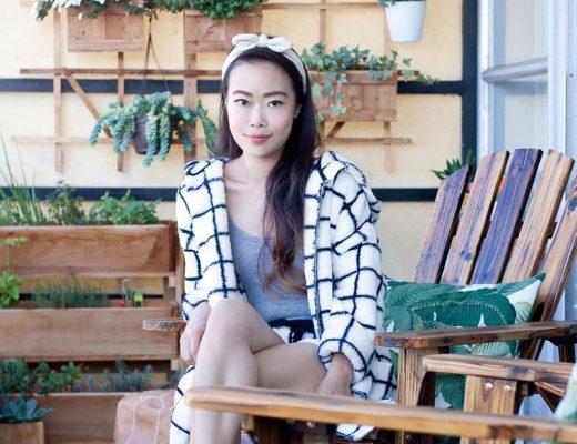 Het balkon van stylist en fashion blogger Toshiko