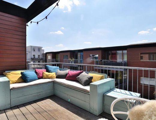 Balkon van stylist Lindsay