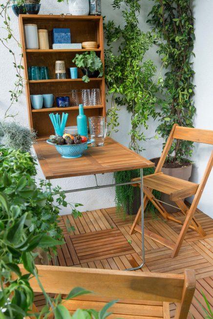 Balkon tafel inspiratie