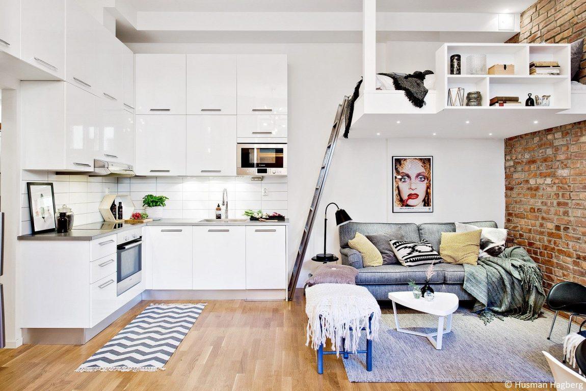 bank onder hoogslaper woonkamer