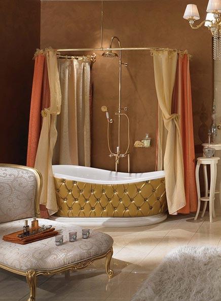 Badkamermeubel Houtlook ~ Barok badkamer  Inrichting huis com