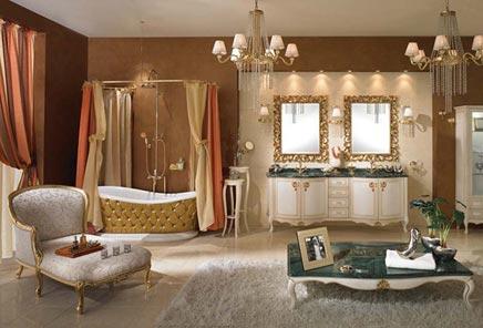 Barok badkamer | Inrichting-huis.com