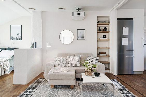 Beamer in huis inrichting for Decoracion pisos acogedores