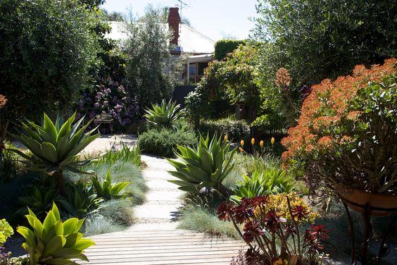 Duurzame beplanting van de tuin