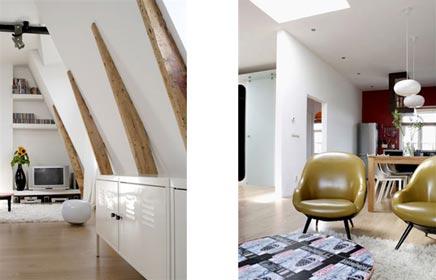 Van bergingzolder tot luxe loft appartement inrichting - Huis loft ...