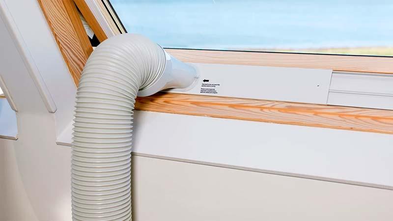 beste stille airco afvoer raam