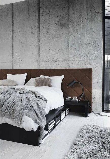 betonlook behang | inrichting-huis, Deco ideeën