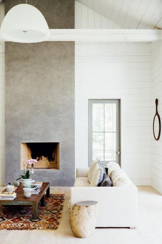 Betonlook muur 't Stilleven Suède Stone oud grijs