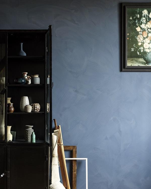 Betonlook verf Le Noir & Blanc nuance zinc grey