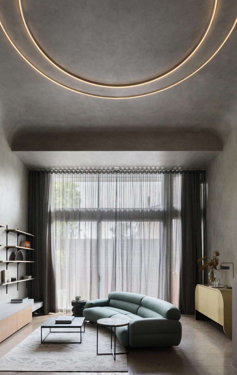 betonnen plafond