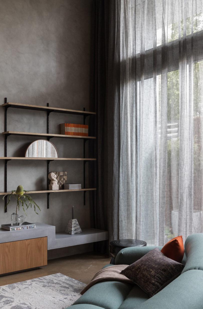 betonnen tv meubel
