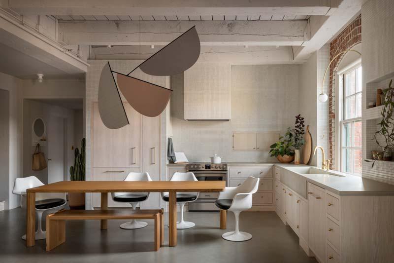 betonnen vloer in keuken