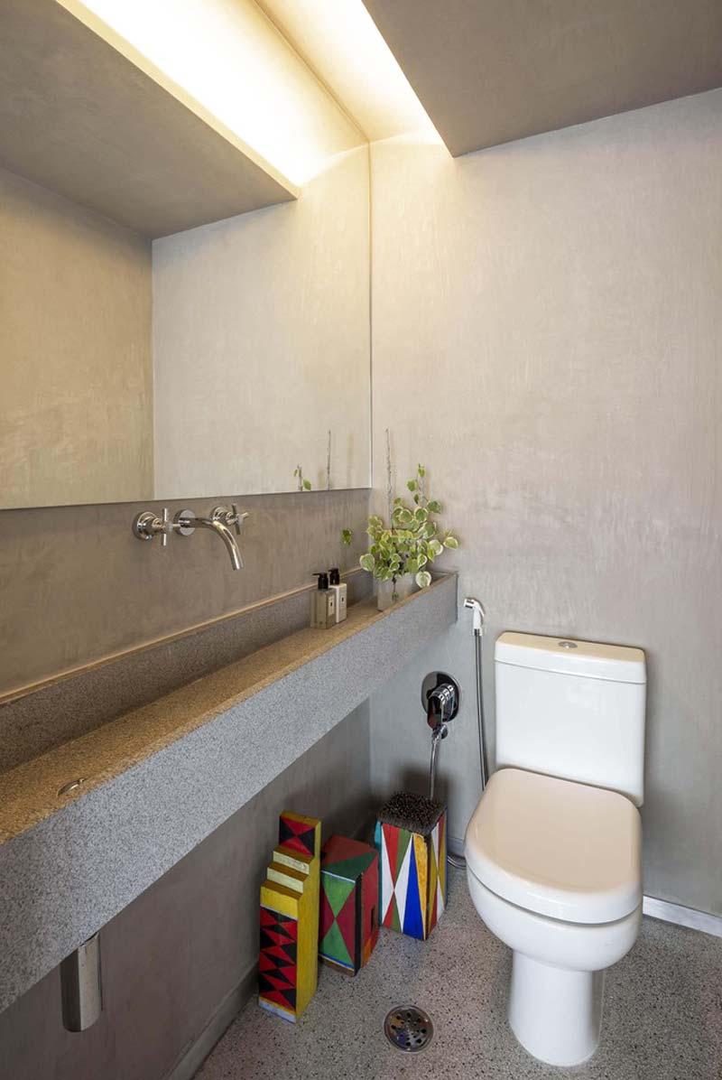 betonstuc toilet