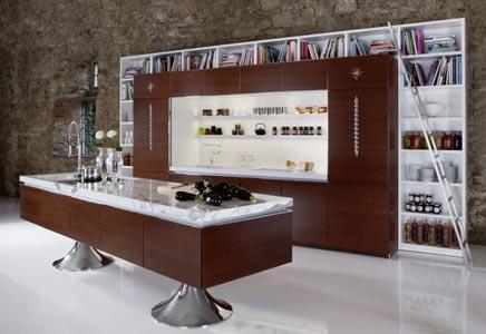 Bibliotheek in je keuken