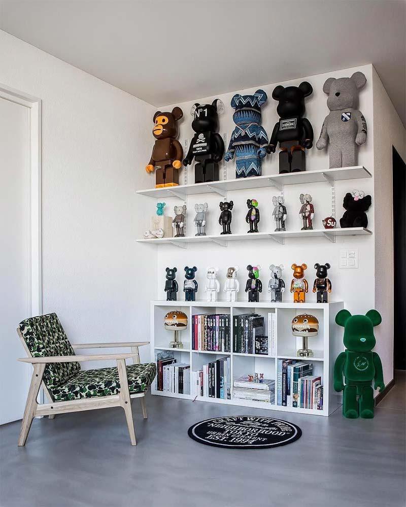 bijzondere kunst in huis designertoys