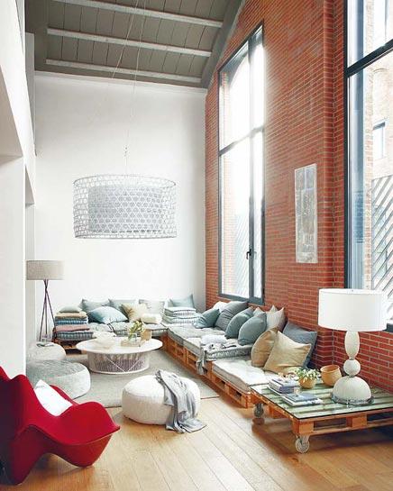 Spezielle Wohnzimmer mit schönen Detail