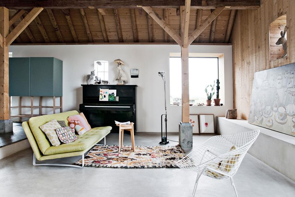 Binnenkijken bij interieur ontwerpers Ina & Matt