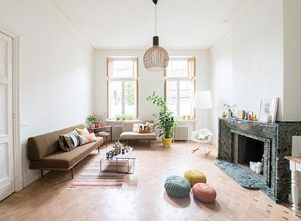 Modern interieur inrichting huis