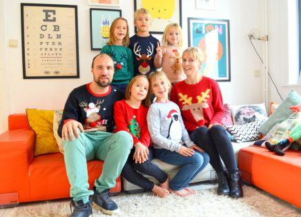 Binnenkijken bij een gezin met vijf kinderen