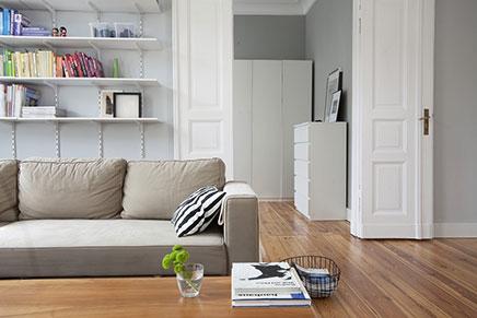 Binnenkijken in Scandinavisch appartement in Polen